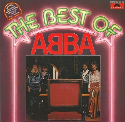 ABBA The Best Of Abba Vinyl Record LP German Polydor 1976